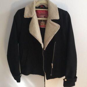 Women's winter biker jacket